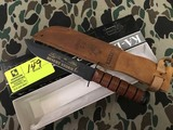 KA-BAR Collector's US Army 15th Anniversary Desert Storm Knife, Blade is approx. 7
