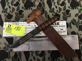 KA-BAR Collector's  USMC 15th Anniversary Desert Storm Knife, Blade is approx. 7