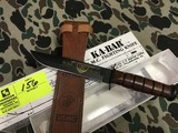 KA-BAR USMC 75th Anniversary Purple Heart Knife, Blade is approx. 7