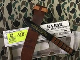 KA-BAR Collector's USMC Operation Enduring Freedom Afghanistan Knife, Blade is approx. 7