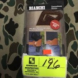 Bianchi Concealment Holster, Universal Fit, Size 16, Tan
