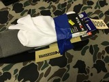 Three Pair of Men's Boot Socks and Liners, Size Large