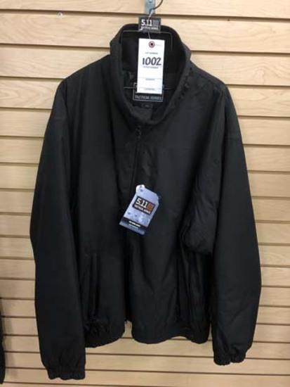 5.11 Tactical Men's Big Horn Jacket, Size 2XL, Black
