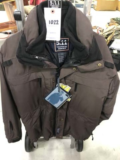 5.11 Tactical Jacket (with liner), Size Medium, Brown