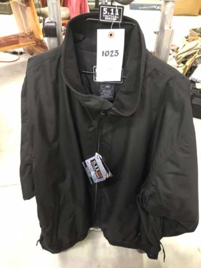 5.11 Tactical Big Horn Jacket, Size 2XL, Black