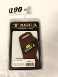 Tagua Universal Holster, UNV 004, Fits Glocks, XD, Taurus, Sigs, 9mm, and 45, Ambidextrous, Brown