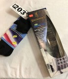 Pair of Browning Boot Insoles and Pair of Thorlo's Cushioned Socks