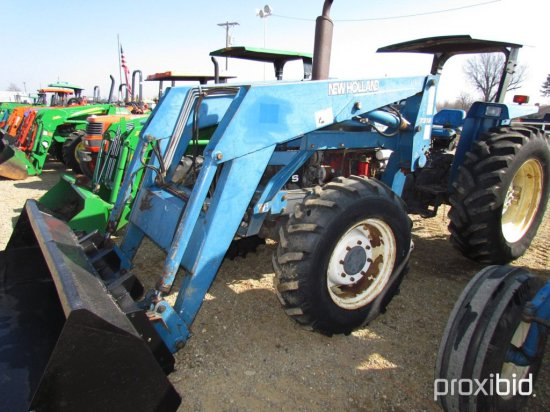 NEW HOLLAND 7810 S 4X4 W/WH 73    Auctions Online | Proxibid