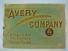 Avery  Avery Company 1909 Machinery Catalog