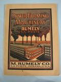 Rumely Power Farming Machinery Rumely Catalog