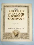 Aultman Taylor Aultman Taylor Machinery Catalog 1914
