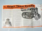 Avery  Track - Runner - broucher