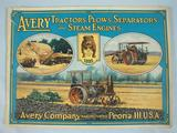 Avery Avery Tractors, Plows, Seperators, and Steam Engine Catalog, 1916