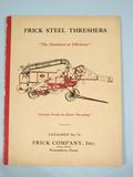 Frick  Frick Steel Threshers Catalog 1936
