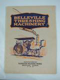 Belleville Threshing Machinery  Belleville Threshing Machinery Catalog