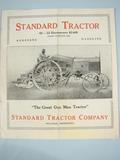 Standard Tractor Company Standard Tractor Advertisment,
