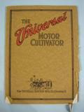 Universal The Universal Motor Cultivator Catalog 1915