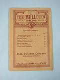 Bull Tractor Company The Bull-etin on the Bull Tractor 1916