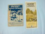 Avery  Avery Yellow Fellows  Advertising and Avery Suppy Catalog, 1923