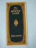 Avery The Avery Line 1923 Catalog