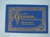 Geiser 1903 The Geiser Manufacturing Company catalog