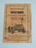Massey Harris General Purpose four wheel drive tractor