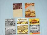 Minneapolis Moline Harvester Catalogs