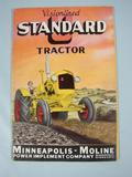 Minneapolis Moline Minneapolis Standard U Catalog