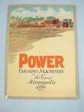 Minneapolis  Power Farming Machinery