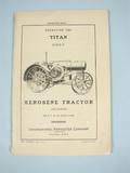 IHC 10-20 Titan Operation Manual