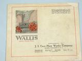 Wallis  Wallis Tractor Pamplet