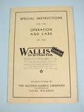 Wallis Wallis 20-30 Tractor catalog