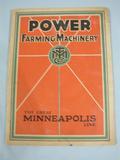 Minneapolis Power Farming Machinery The Great Minneapolis Line