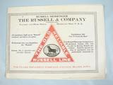 Russell and Company Russell and Company  Sales Catlogue