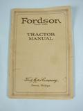 Ford Fordson Tractor Manual and Fordson Price List