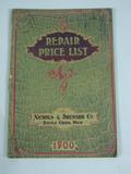 Nicholas & Shepard Co. Nicholas & Shepard Co, Repair Price list 1900