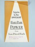 Hart Parr Folding Brochure Advertising for Hart Parr 18-36