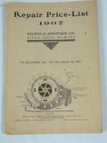 Nicholas & Shepard Co. Nicholas & Shepard Co, Repair Price List 1907 Seperators