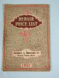 Nicholas & Shepard Co. Nicholas & Shepard Co, Repair Price list 1901