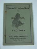 Hart Parr Manual of Instructions for Hart Parr Tractors
