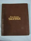 Ford Fordson Dealer Book -1927 Edition