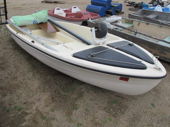 1990 12ft SNARK SUNCHASER II sailboat with 18 ft  two piece