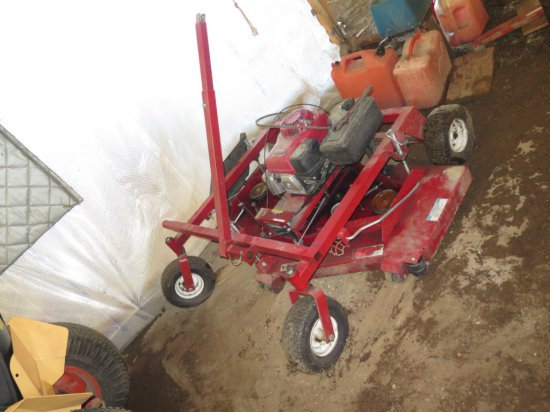 Swisher 60'' pull behind finish mower with Honda 13 hp motor