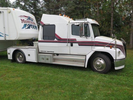 1996 Freightliner FL60 Cabriolet Sportliner, 375 diesel with torque convert