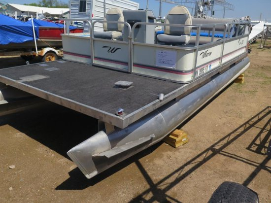 1991 Weeres 20' Sport 20 pontoon w/Johnson 50hp (Transfer