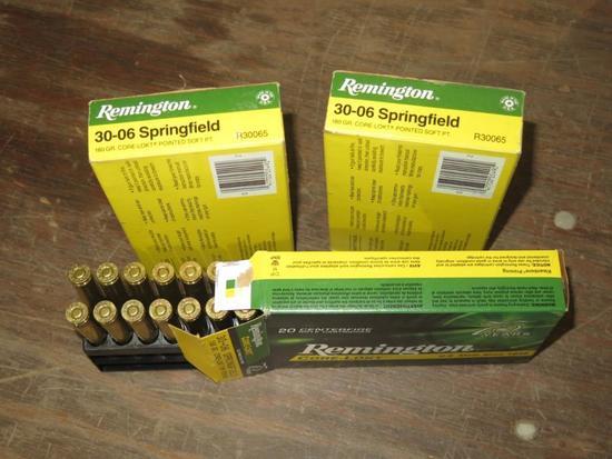52rds Remington 30-06, tag#5048