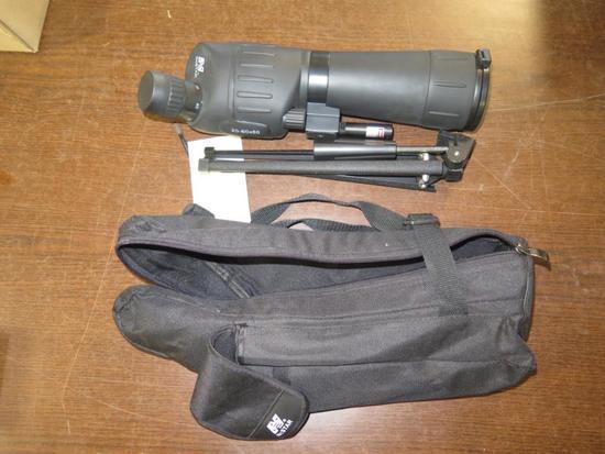 NC Star 20-60x60 spotting scope, tag#5125