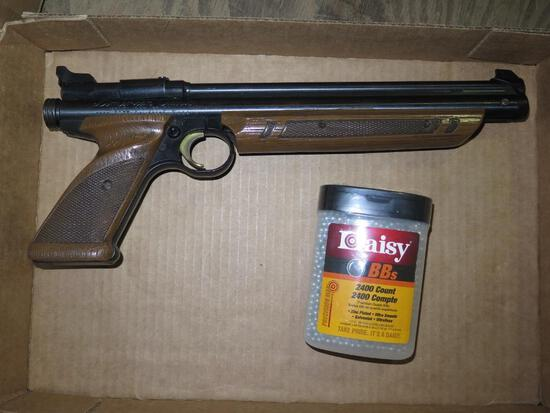 American Classic 1377 air pistol with BBs, tag#1203