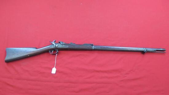 US Springfield 45-70 trap door army rifle, antique, ser#494796, tag#1211