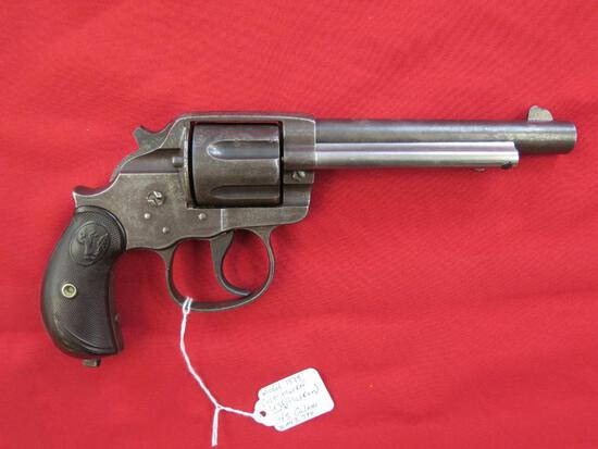 Colt model 1878 (also known as Alaskan) .45cal revolver, marked US, mismatc